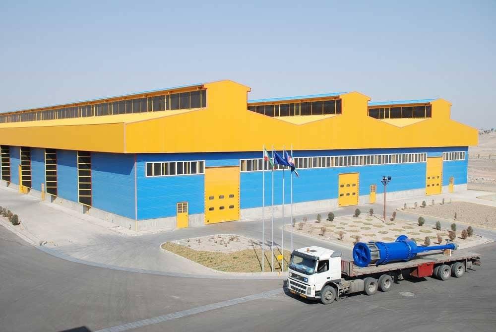 شرکت میراب (تولیدکننده انواع شیرآلات صنعتی)