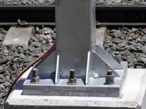 انواع اتصالات پای ستون
